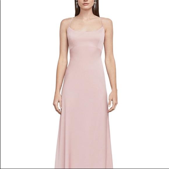BCBGMaxAzria Dresses & Skirts - BCBGMAXAZRIA Fae Lace-Up Gown